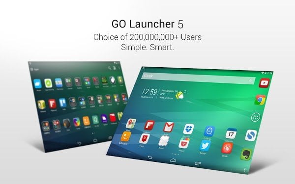 GO Launcher Z Prime VIP v1.03 build 427 Apk